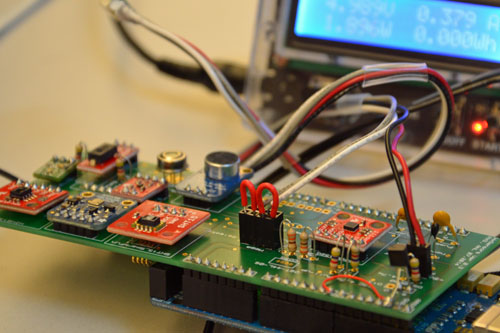 Waggle customizable sensor board