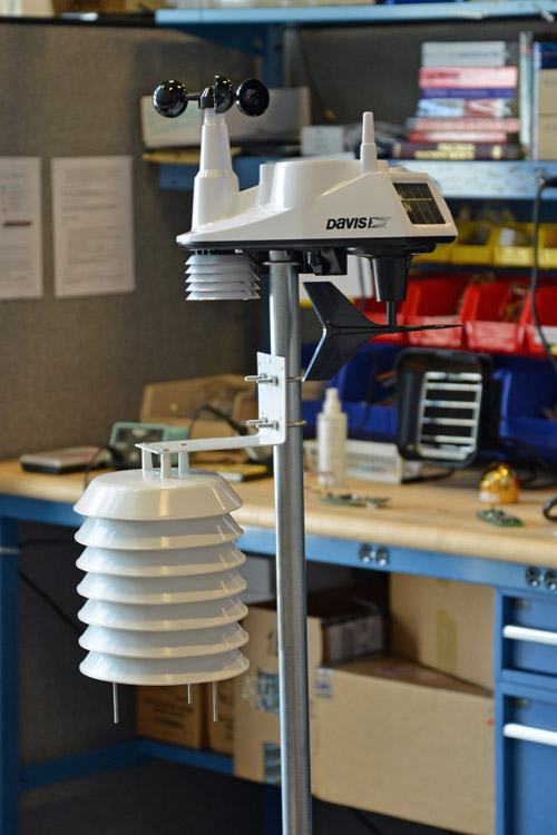 An intelligent weather sensor with 4-core ARM, almost ready for deployment