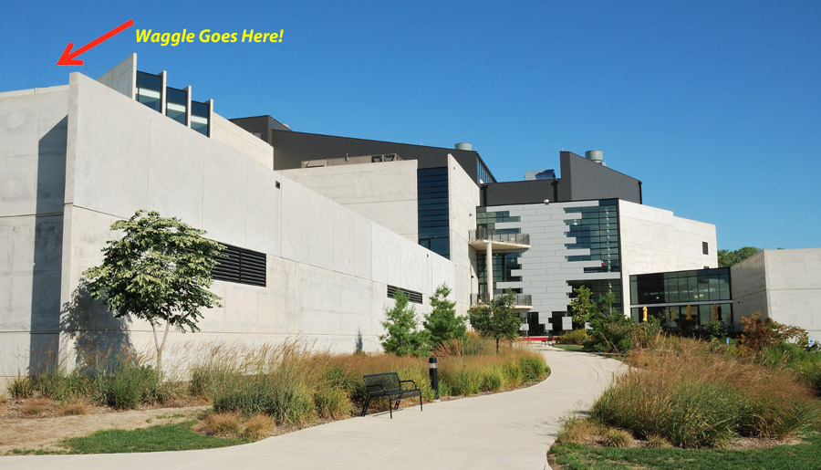 Building 240, the Theory and Computing Science (TCS) building at Argonne National Laboratory.