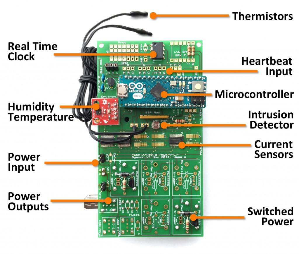 Waggle Sysmon V1.0 Nov-2014 board